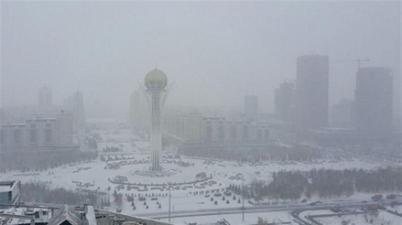 Какая погода ожидается в Казахстане 7 января