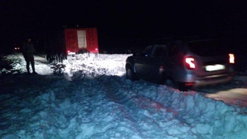 55 человек спасли из «снежного плена» в Алматинской области