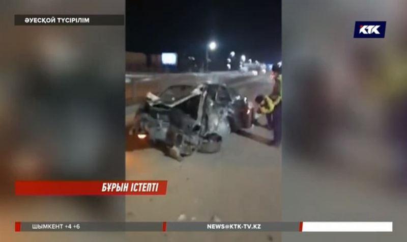 Алматыда ірі жол апатын жасаған полицей бір ай бұрын жұмыстан шығарылған