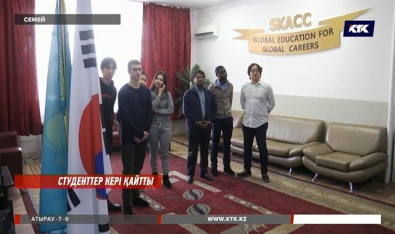 Кореяға кіре алмаған семейлік студенттердің мәселесі шешілді