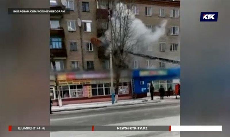 Пожар в Кокшетау унёс жизнь человека