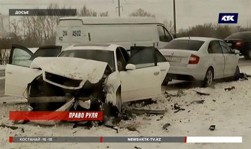 Казахстанских водителей хотят обучать экстремальному вождению
