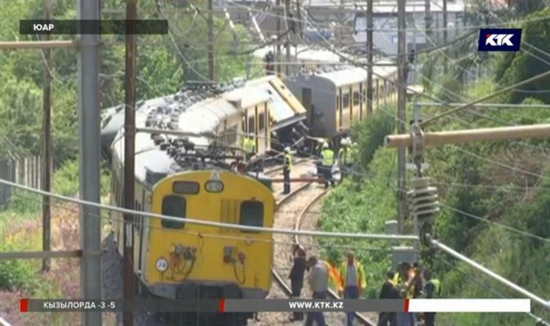 В ЮАР столкнулись поезда – почти 700 пострадавших