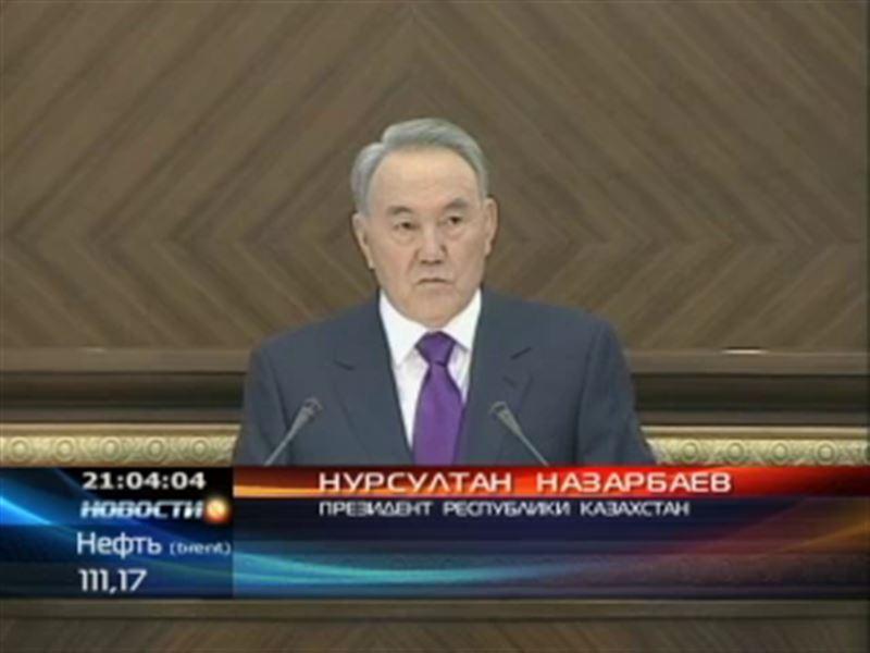 Президент выступил в Астане с очередным Посланием народу Казахстана ... bd3b3f1b902