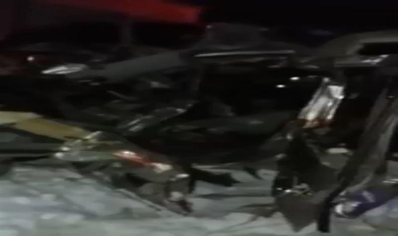 Қостанайдағы жантүршігерлік жол апатынан екі адам ажал құшты