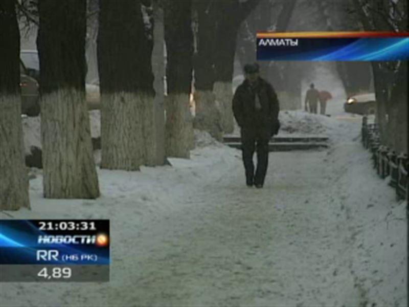 На территории Казахстана объявлено штормовое предупреждение