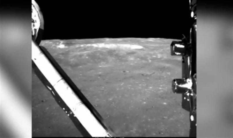 В Сети опубликовано видео посадки на обратную сторону Луны