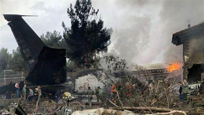 В окрестностях Тегерана потерпел крушение грузовой самолет