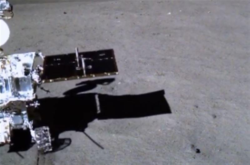 Прогулку лунохода по обратной стороне Луны сняли на видео