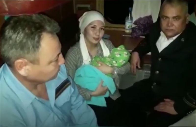 Пассажирка родила прямо в поезде Шымкент – Алматы