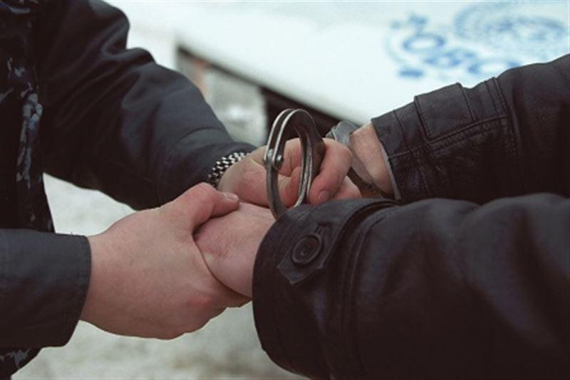 По дороге на работу полицейский задержал грабителя в Костанае