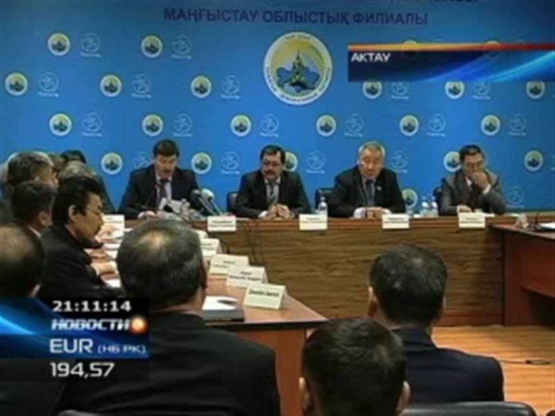 Чиновников Жанаозена собираются исключить из «Нур Отана»