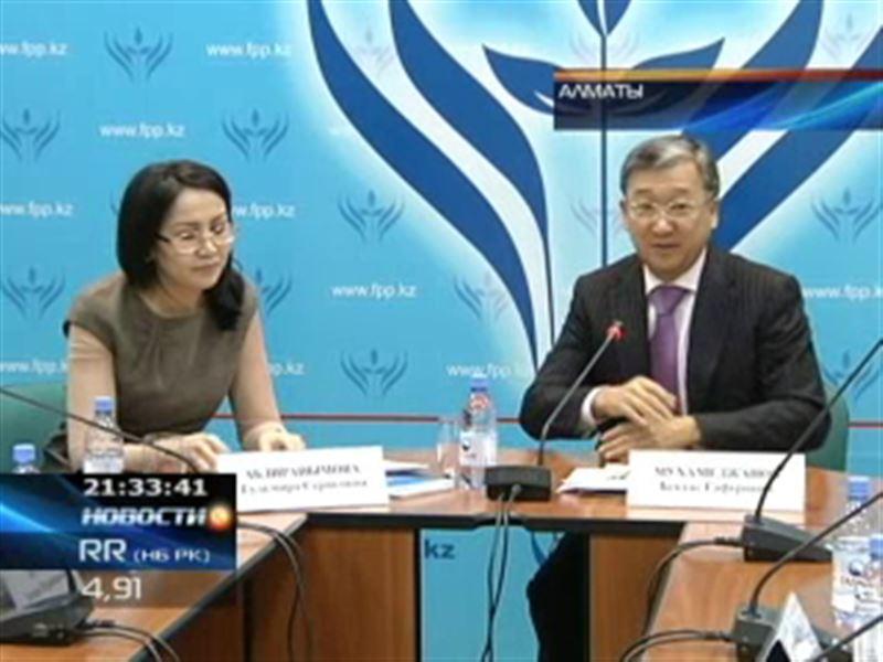 В Алматы молодые ученые давали советы чиновникам и бизнесменам