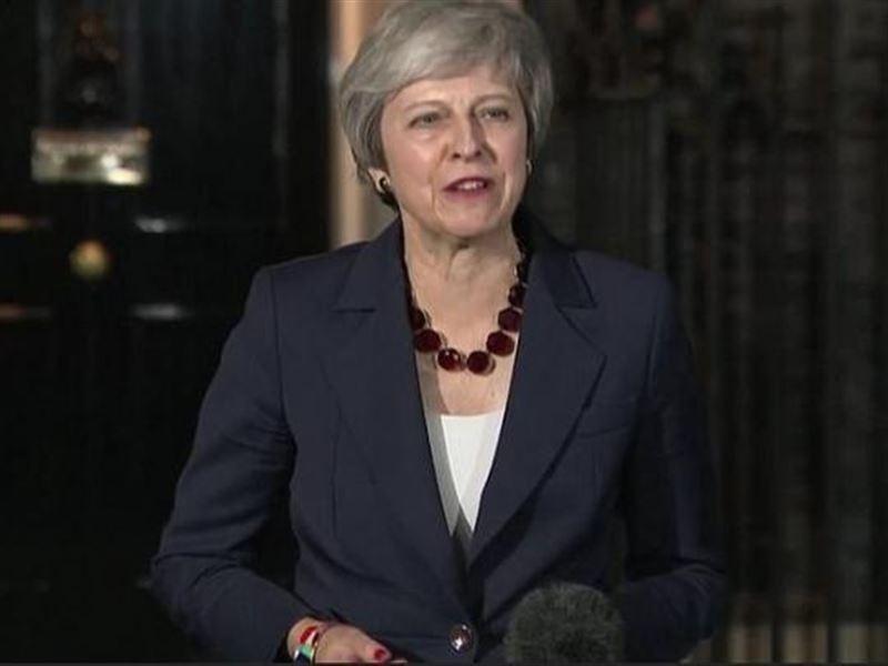 Премьер-министр Великобритании Тереза Мэй сохранила свой пост