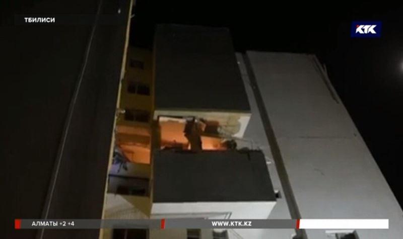 В Тбилиси взорвалась новая многоэтажка