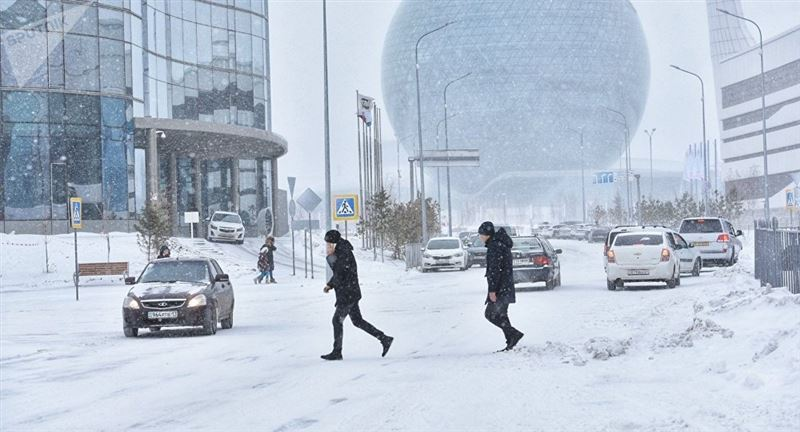 Прогноз погоды по Казахстану на пятницу, 18 января
