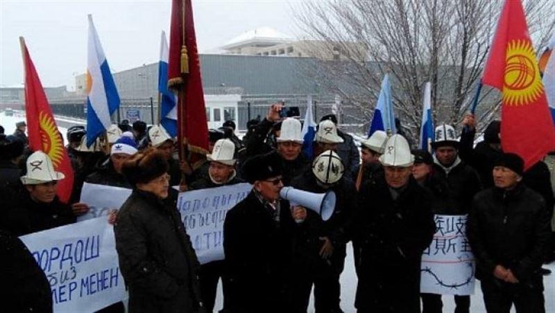 Антикитайский митинг в Бишкеке: задержали 21 человека, их оштрафовали и отпустили