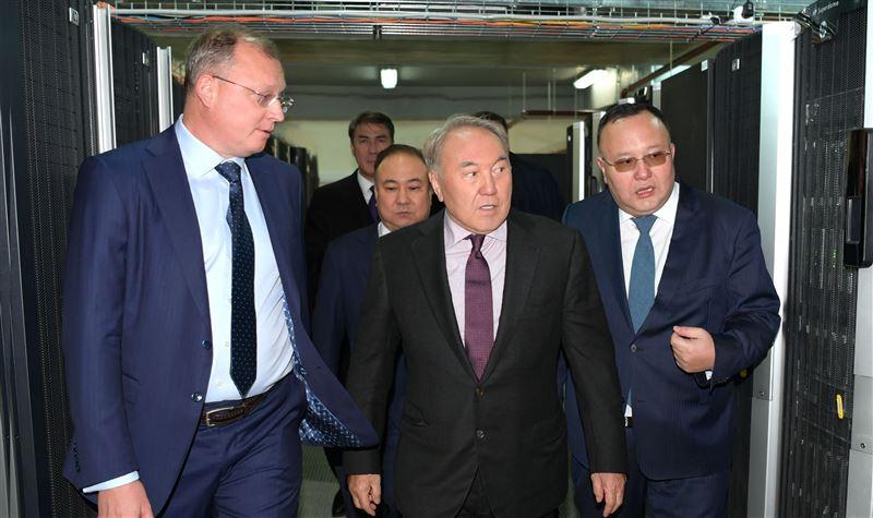 Назарбаев посетил «умный город» Акколь