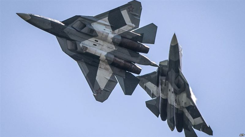 Екі Су-34 ұшағы соқтығысты
