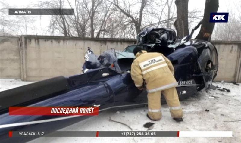 Крушение вертолёта в Алматы: перед падением пилот повёл себя странно