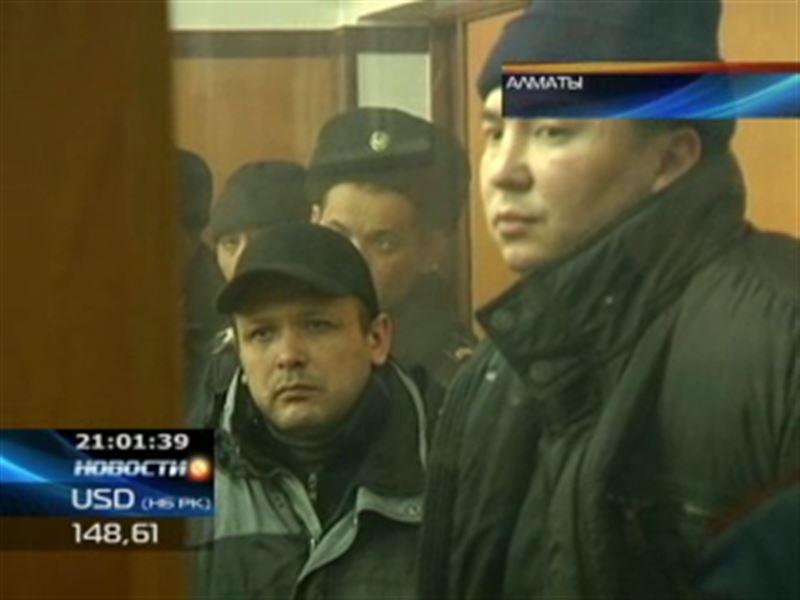 В Алматы вынесен приговор членам крупной преступной группировки