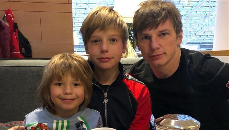 Андрей Аршавин впервые за пять лет увиделся с детьми от Юлии Барановской