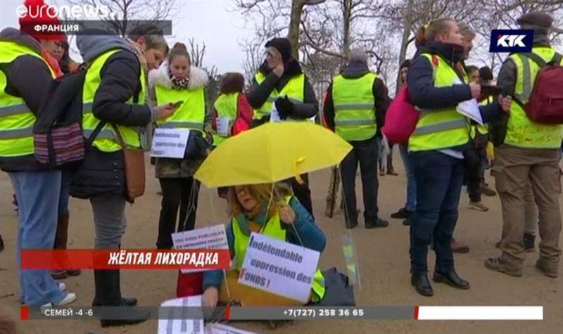 Женщины поддержали движение «жёлтых жилетов» во Франции