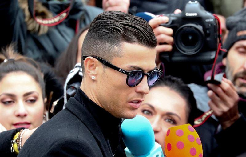 Роналду за мошенничество с налогами получил 23 месяца тюрьмы и штраф в 19 млн евро