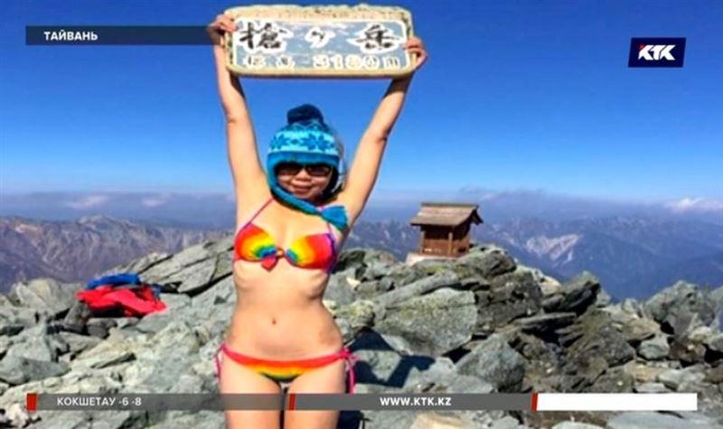 Знаменитая альпинистка в бикини замёрзла насмерть