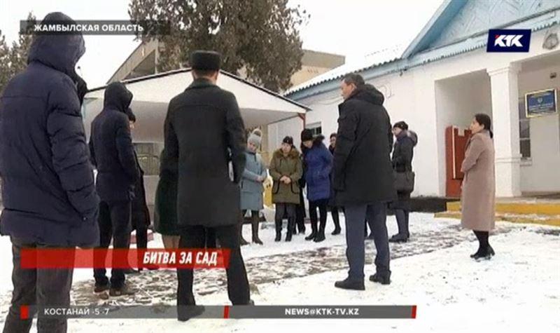 Сотрудники детсада в Жамбылской области удивлены, что их здание признали аварийным