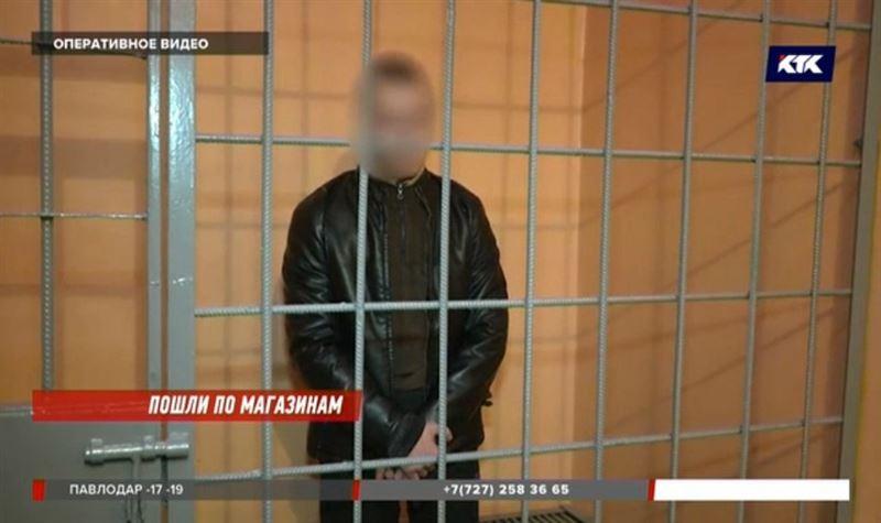 Грабители с пистолетом обворовывали магазины Капшагая