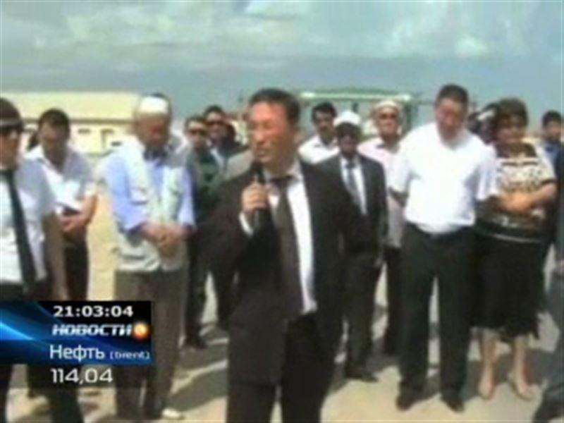 Финансовая полиция задержала акима Жанаозена