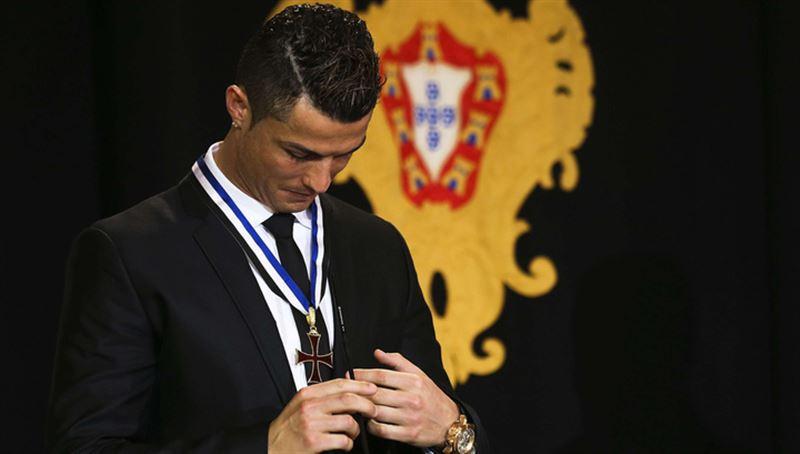 Криштиану Роналду могут лишить государственной награды