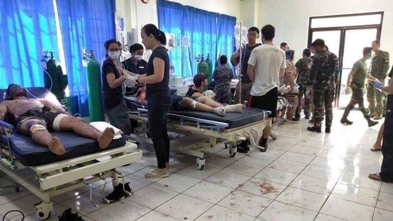 Филиппинде шіркеуде жарылыс болып, 19 адам қаза тапты