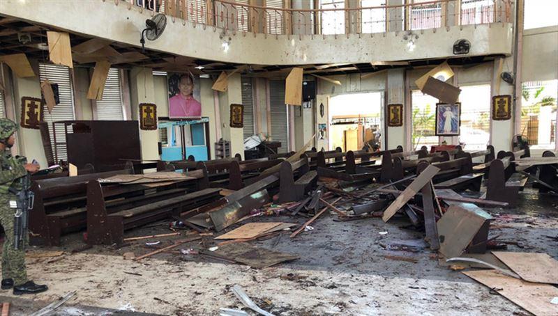 Взрыв на Филиппинах унёс жизни 19 человек