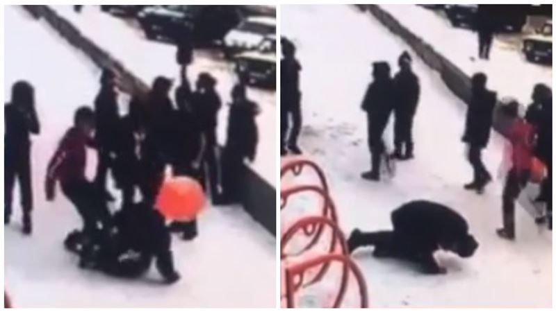 В Караганде избили мальчика за отказ уступить место в пиццерии