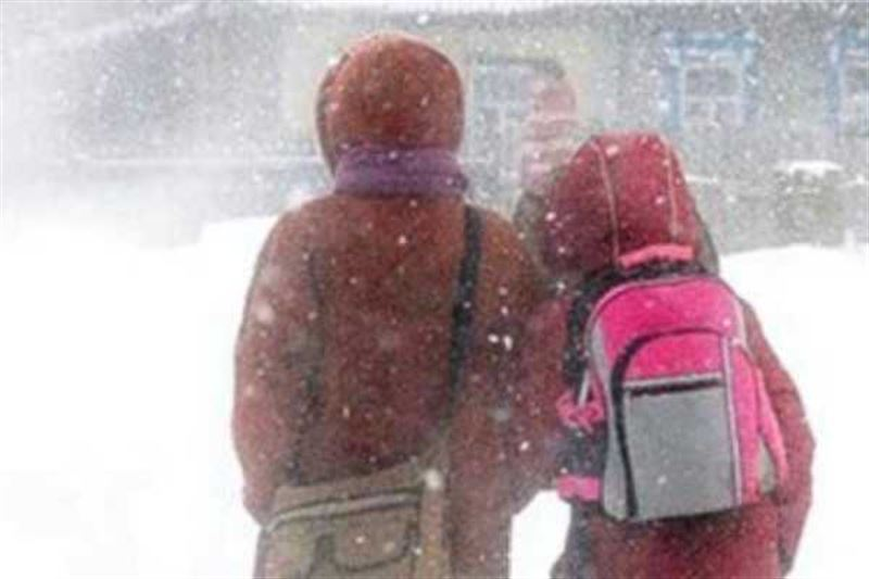 Школьные занятия отменили в нескольких регионах Казахстана
