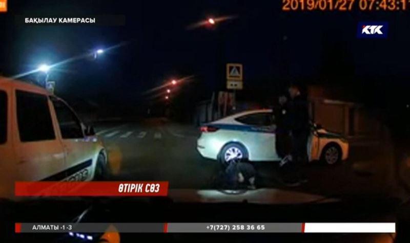 Алматылық полицейлер қызу пікірталас тудырған видеоға қатысты түсініктеме берді