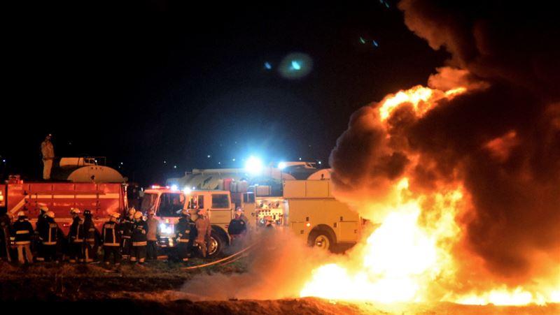 На трубопроводе в Мексике произошел взрыв