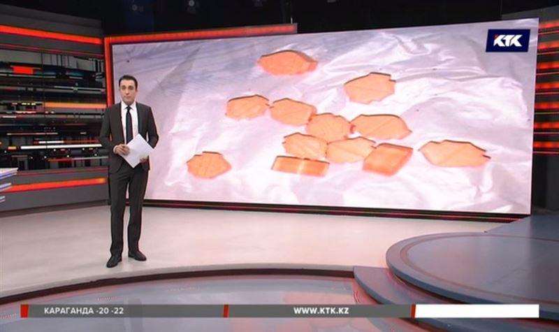 В Казахстан под видом спагетти пытались ввезти наркотики