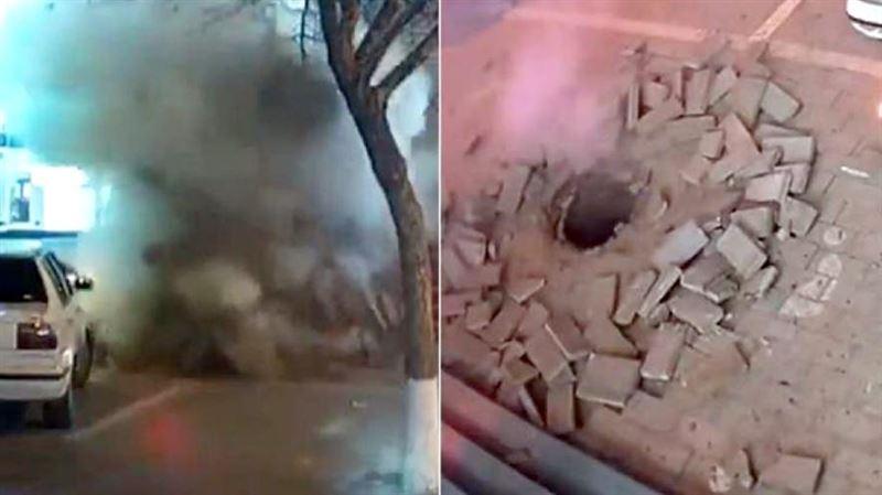 В Китае мужчина случайно взорвал канализацию