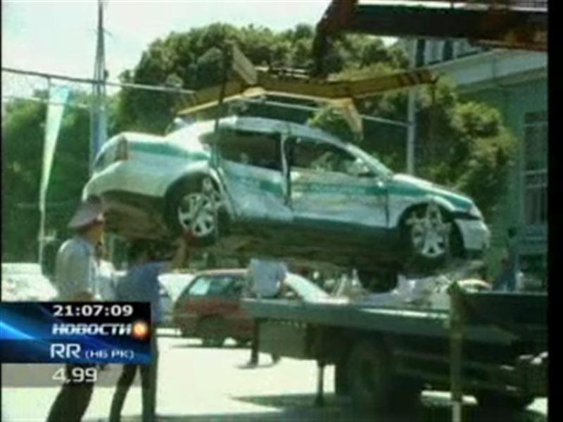 Водитель алматинского автобуса, который врезался в машину дорполиции, избежит уголовного наказания
