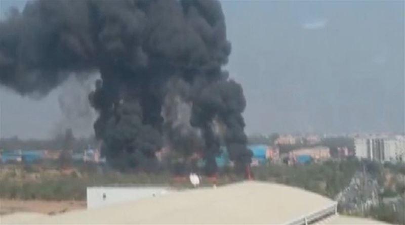 Военный самолет потерпел крушение в Индии