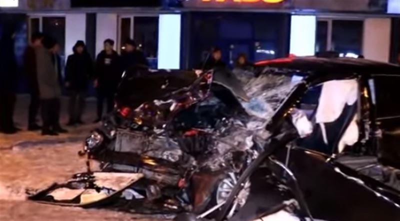 В аварии с «перевертышем» пострадали 6 человек в Алматы
