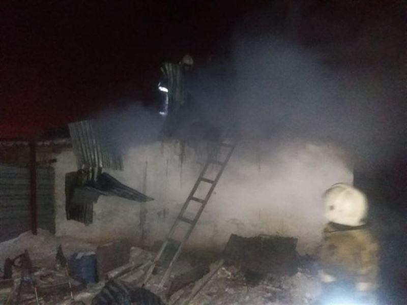 На месте пожара в Астане найдены тела пяти детей