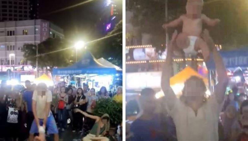 В Малайзии задержали россиян за жонглирование ребенком на уличном представлении