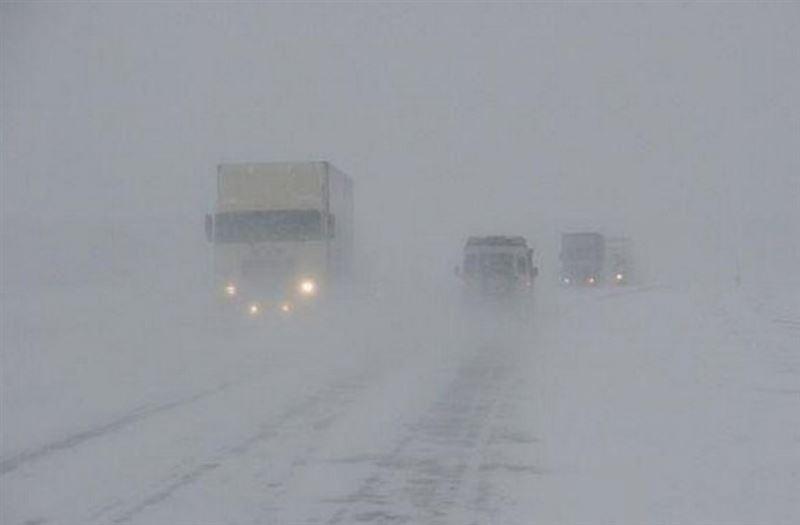 В Казахстане закрыты некоторые трассы