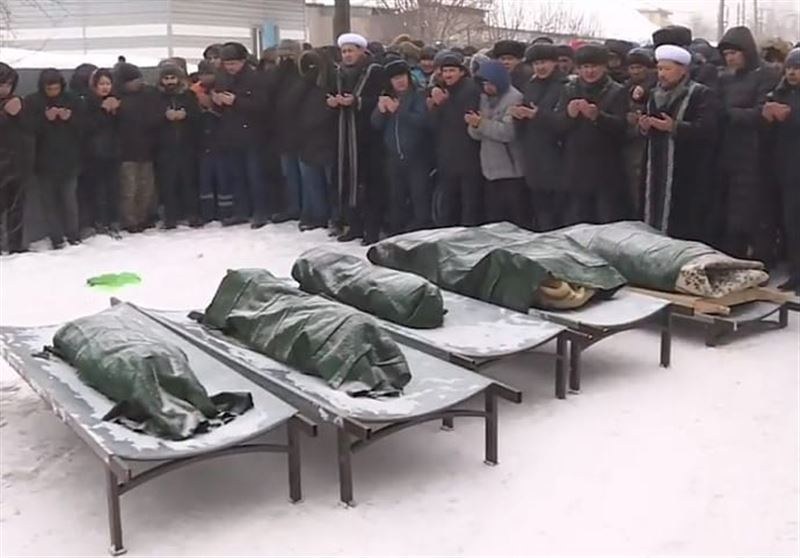 Сгоревших заживо пятерых детей сегодня хоронят в Астане
