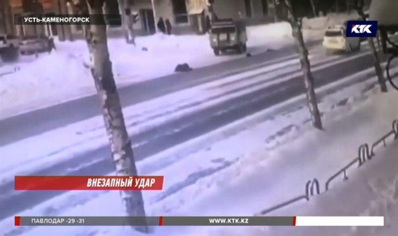 Полицейский сбил 90-летнюю жительницу Усть-Каменогорска