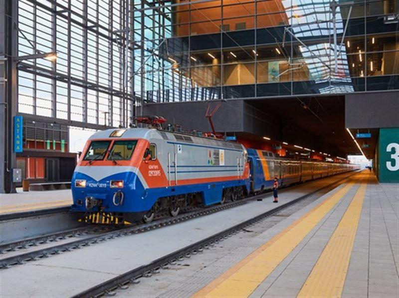 Поезд Кызылорда - Астана отменен из-за сильного мороза в обоих направлениях